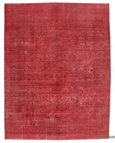 "Over-dyed Vintage Hand-knotted Oriental Rug - 9' 8"" x 12' 6"" (116 in. x 150 in.)"
