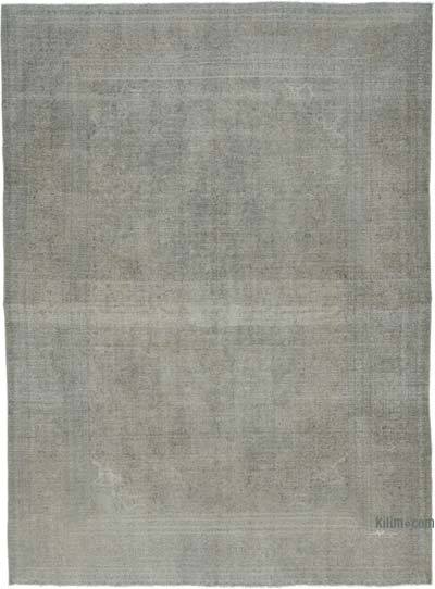 "Over-dyed Vintage Hand-knotted Oriental Rug - 9' 6"" x 13' 1"" (114 in. x 157 in.)"