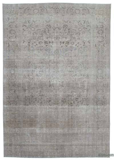 "Over-dyed Vintage Hand-knotted Oriental Rug - 8'6"" x 12'4"" (102 in. x 148 in.)"