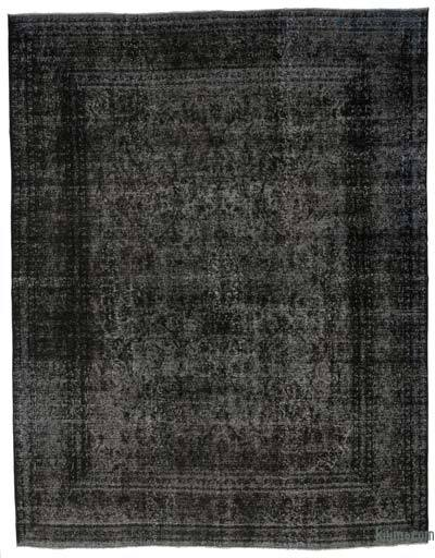 "Over-dyed Vintage Hand-knotted Oriental Rug - 9' 10"" x 12' 6"" (118 in. x 150 in.)"
