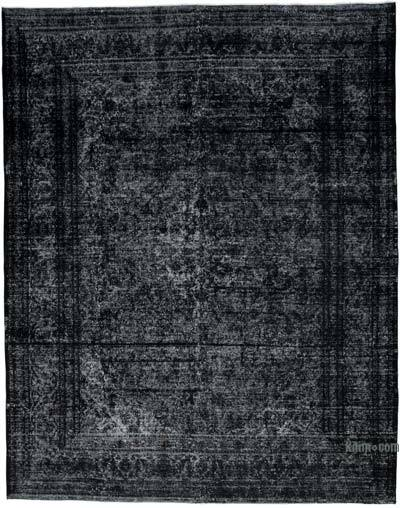 """Over-dyed Vintage Hand-knotted Oriental Rug - 9' 10"""" x 12' 4"""" (118 in. x 148 in.)"""