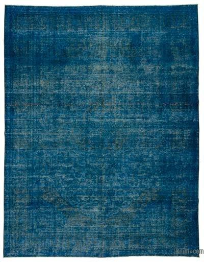 """Over-dyed Vintage Hand-knotted Oriental Rug - 9' 10"""" x 12' 8"""" (118 in. x 152 in.)"""