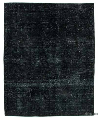 "Over-dyed Vintage Hand-knotted Oriental Rug - 8' 10"" x 11' 1"" (106 in. x 133 in.)"