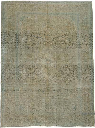 "Over-dyed Vintage Hand-knotted Oriental Rug - 9'8"" x 13' (116 in. x 156 in.)"