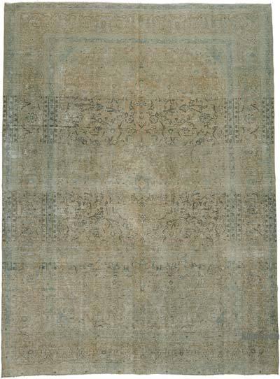 Alfombra Turca Vintage Sobre-teñida  - 295 cm x 395 cm