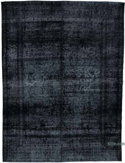 "Over-dyed Vintage Hand-knotted Oriental Rug - 9'5"" x 12'2"" (113 in. x 146 in.)"