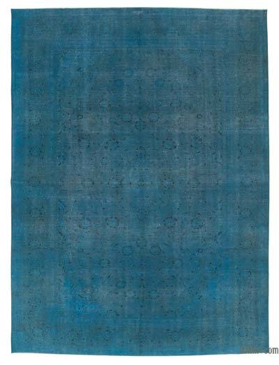 "Over-dyed Vintage Hand-knotted Oriental Rug - 9' 4"" x 12' 6"" (112 in. x 150 in.)"