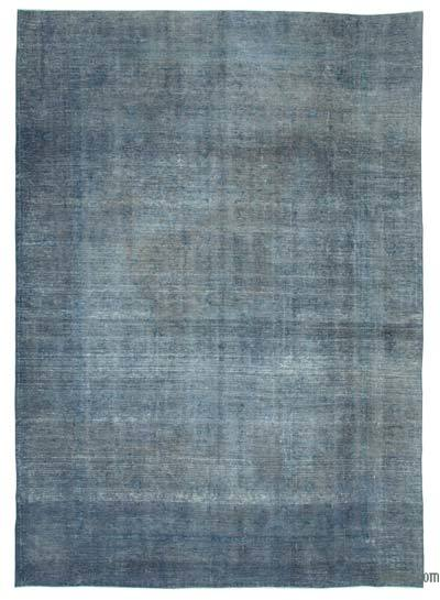 "Over-dyed Vintage Hand-knotted Oriental Rug - 9' 5"" x 13' 2"" (113 in. x 158 in.)"