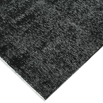 """Black Over-dyed Vintage Hand-Knotted Oriental Rug - 9' 11"""" x 12' 7"""" (119 in. x 151 in.) - K0041336"""