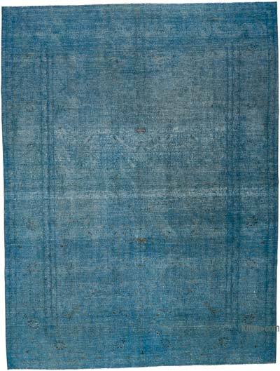 "Over-dyed Vintage Hand-knotted Oriental Rug - 9' 6"" x 12' 7"" (114 in. x 151 in.)"
