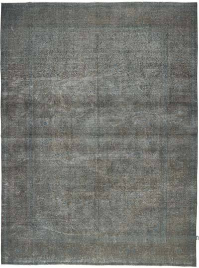 "Over-dyed Vintage Hand-knotted Oriental Rug - 9'10"" x 13'1"" (118 in. x 157 in.)"
