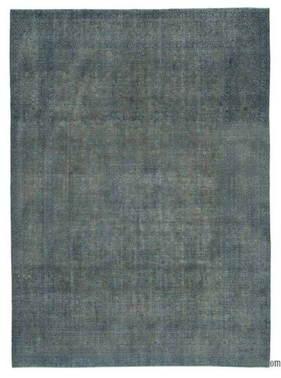 "Over-dyed Vintage Hand-knotted Oriental Rug - 9' 5"" x 13' 1"" (113 in. x 157 in.)"
