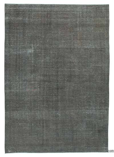 Vintage Boyalı El Dokuma Halı - 242 cm x 344 cm
