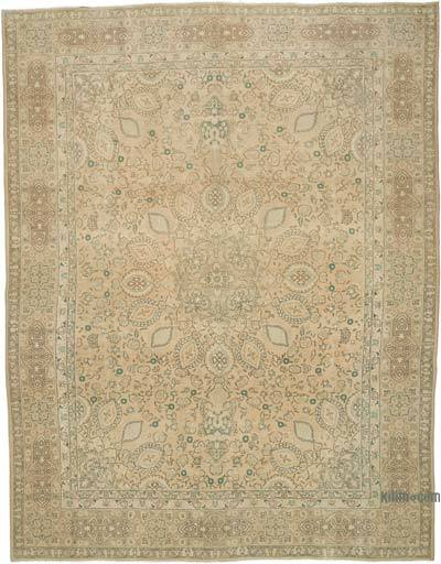 """Vintage Hand-knotted Oriental Rug - 9' 9"""" x 12' 8"""" (117 in. x 152 in.)"""