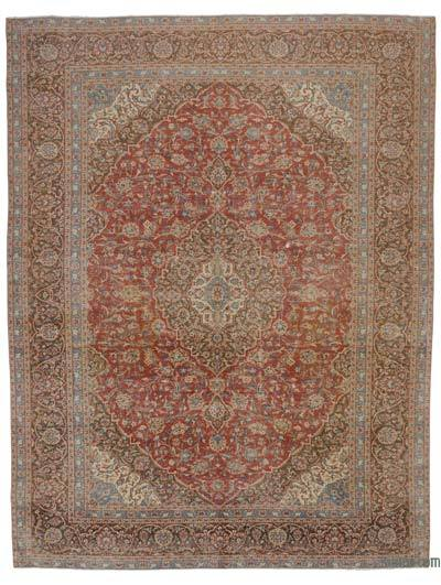 "Vintage Hand-knotted Oriental Rug - 9'10"" x 12'10"" (118 in. x 154 in.)"