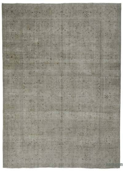 Vintage Boyalı El Dokuma Halı - 290 cm x 400 cm