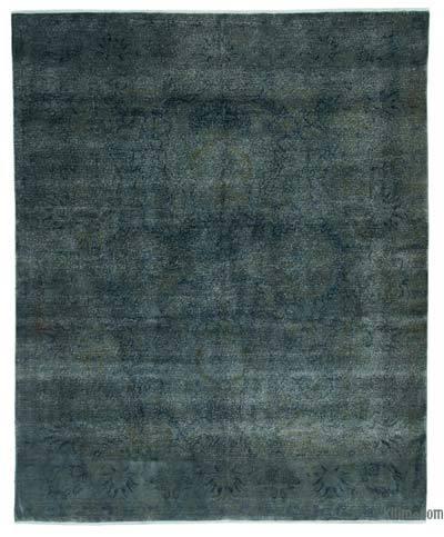 Alfombra Turca Vintage Sobre-teñida  - 243 cm x 300 cm