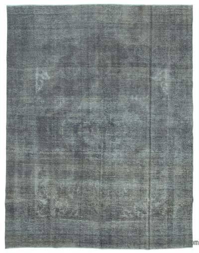 Vintage Boyalı El Dokuma Halı - 300 cm x 394 cm