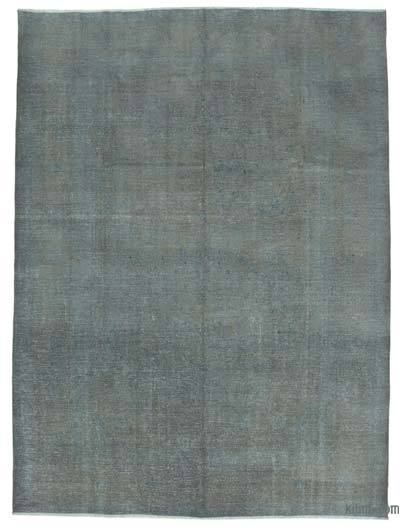 "Over-dyed Vintage Hand-knotted Oriental Rug - 9' 3"" x 12' 6"" (111 in. x 150 in.)"