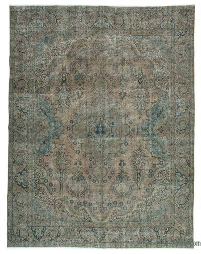 """Vintage Hand-knotted Oriental Rug - 10'3"""" x 13'4"""" (123 in. x 160 in.)"""