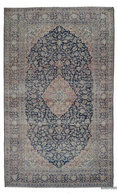 """Vintage Hand-knotted Oriental Rug - 9'5"""" x 15'7"""" (113 in. x 187 in.)"""