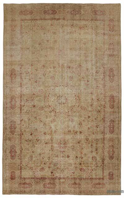 """Vintage Hand-knotted Oriental Rug - 9'10"""" x 15'10"""" (118 in. x 190 in.)"""