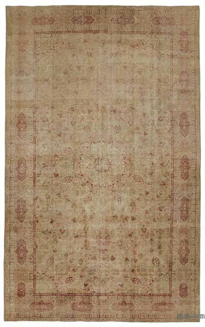 Vintage El Dokuma Halı - 300 cm x 483 cm