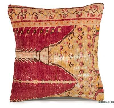 """Turkish Pillow Cover - 1' 8"""" x 1' 8"""" (20 in. x 20 in.)"""