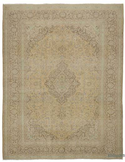 "Vintage Hand-knotted Oriental Rug - 9' 9"" x 12' 6"" (117 in. x 150 in.)"
