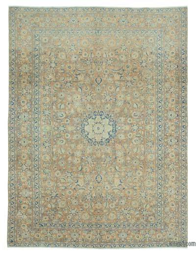 "Vintage Hand-knotted Oriental Rug - 9'9"" x 13'2"" (117 in. x 158 in.)"
