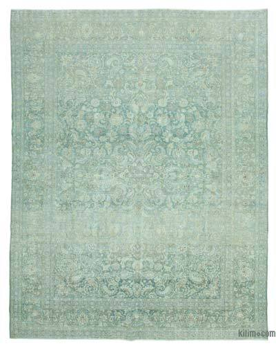 """Vintage Hand-knotted Oriental Rug - 10'7"""" x 13'7"""" (127 in. x 163 in.)"""
