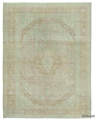 "Vintage Hand-knotted Oriental Rug - 10' 6"" x 14' 1"" (126 in. x 169 in.)"