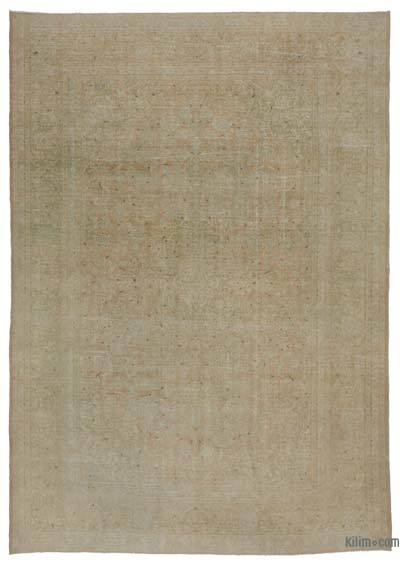 Büyük Boy El Dokuma Vintage Halı - 293 cm x 415 cm
