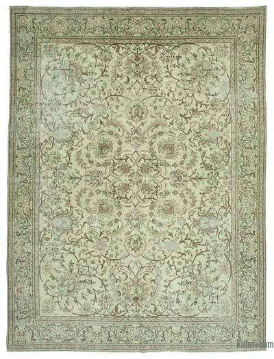 "Vintage Hand-knotted Oriental Rug - 9'6"" x 12'9"" (114 in. x 153 in.)"