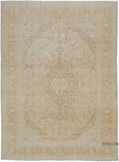 "Vintage Hand-knotted Oriental Rug - 9' 4"" x 12' 8"" (112 in. x 152 in.)"