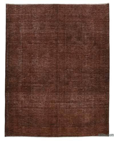 "Over-dyed Vintage Hand-knotted Oriental Rug - 8'9"" x 11'2"" (105 in. x 134 in.)"