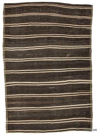 Vintage Anadolu 'Kıl' Kilim - 193 cm x 290 cm