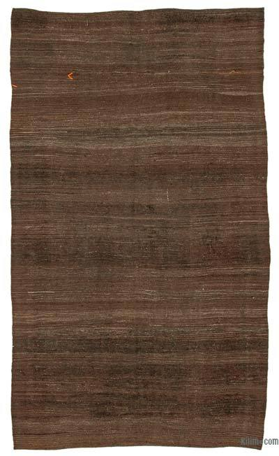 "Vintage Anatolian Kilim Rug - 5' 7"" x 9' 9"" (67 in. x 117 in.)"