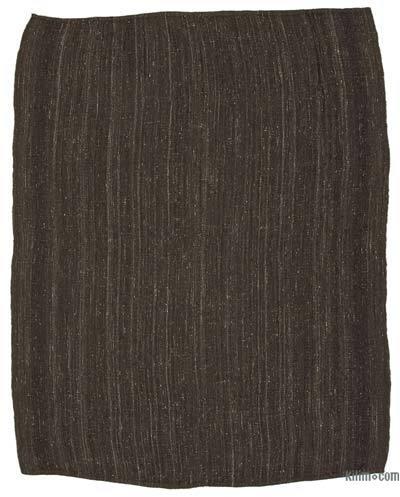 Marrón Alfombra Vintage Anatolian Kilim - 243 cm x 296 cm
