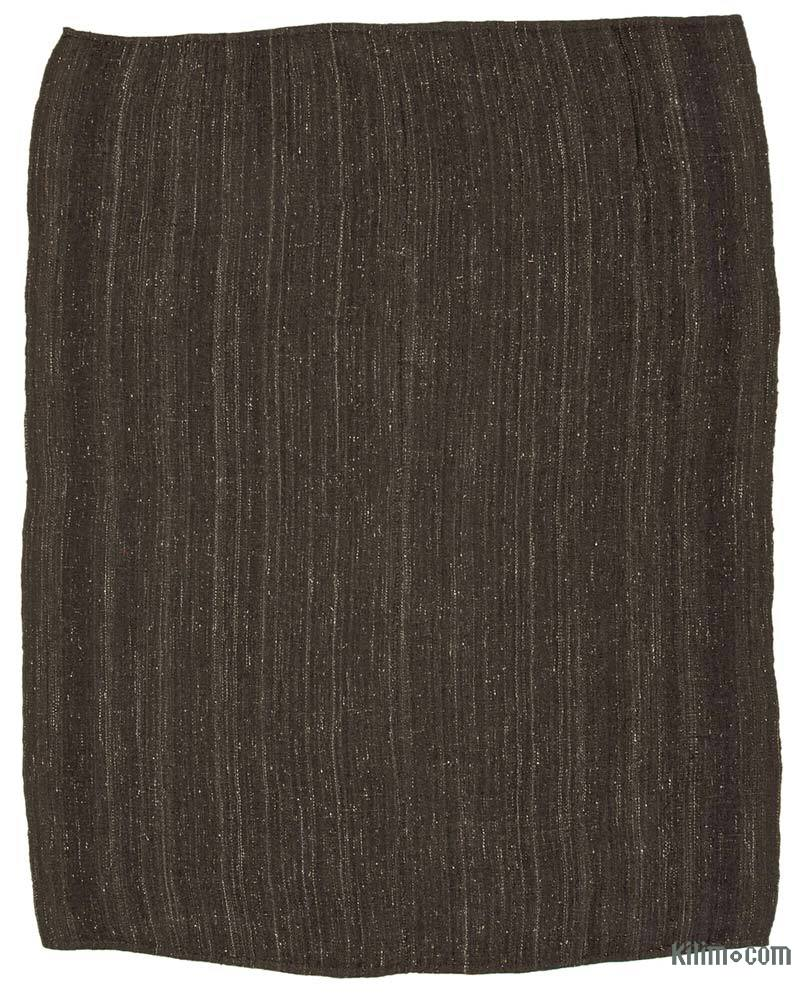 Marrón Alfombra Vintage Anatolian Kilim - 243 cm x 296 cm - K0042545