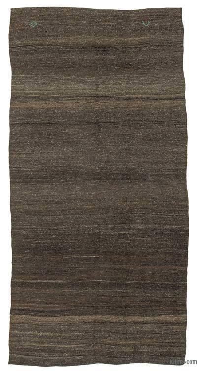 "Vintage Anatolian Kilim Rug - 5'3"" x 10'8"" (63 in. x 128 in.)"