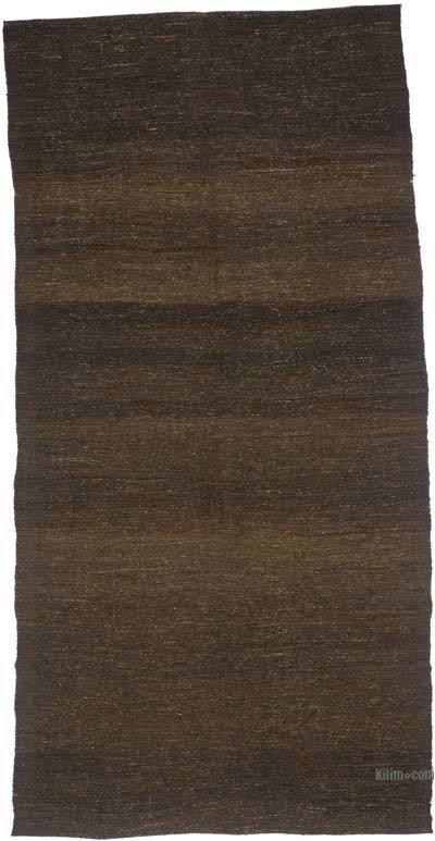 Marrón Alfombra Vintage Anatolian Kilim - 155 cm x 325 cm