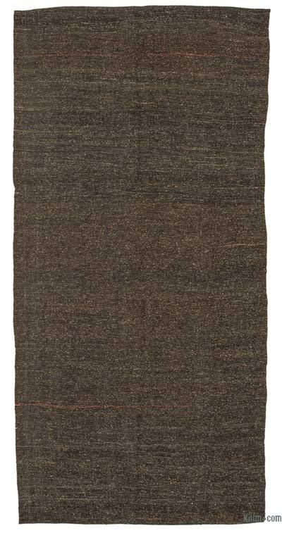 Marrón Alfombra Vintage Anatolian Kilim - 157 cm x 323 cm