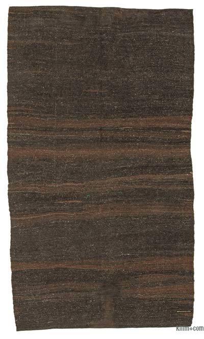 Marrón Alfombra Vintage Anatolian Kilim - 153 cm x 278 cm