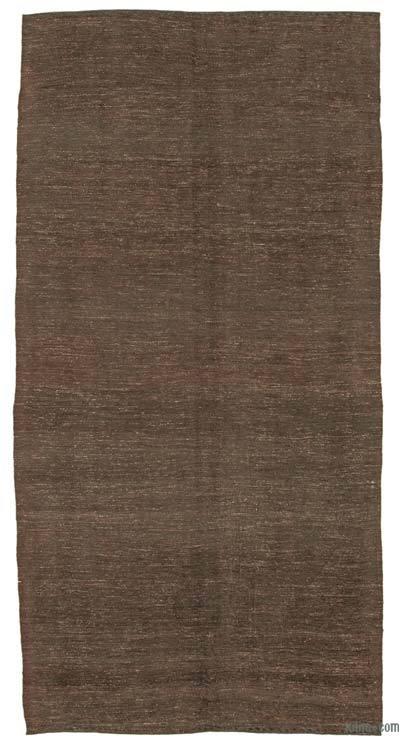 Marrón Alfombra Vintage Anatolian Kilim - 162 cm x 330 cm