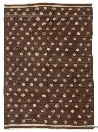 Alfombra Vintage Anatolian Kilim - 200 cm x 276 cm