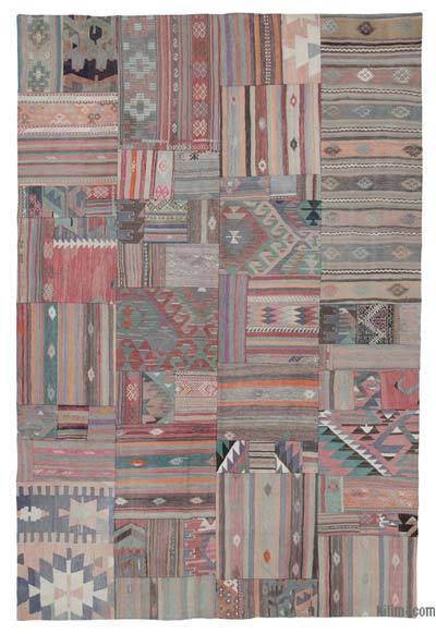 Patchwork Kilim - 202 cm x 301 cm