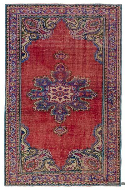 "Turkish Vintage Rug - 5' 8"" x 8' 9"" (68 in. x 105 in.)"