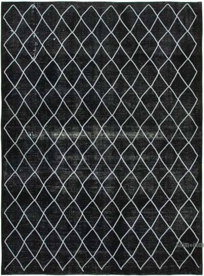 Alfombra Turca bordada sobre teñida vintage - 292 cm x 392 cm