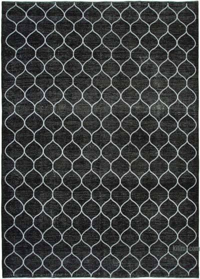 Alfombra Turca bordada sobre teñida vintage - 288 cm x 400 cm
